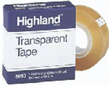 TAPE HIGHLAND TRANSPARENT