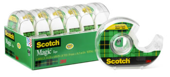 SCOTCH MAGIC TAPE 3/4 X 650 6PK