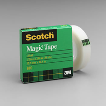 TAPE SCOTCH MAGIC 1/2 X 36 YDS