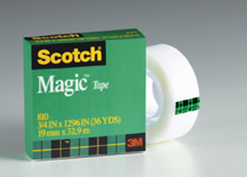 TAPE SCOTCH MAGIC 3/4 X 36 YDS