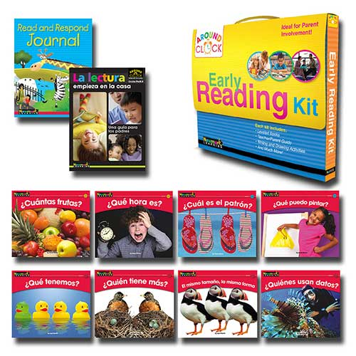 MATH KIT SPANISH RISING READERS
