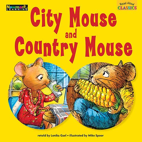CITY MOUSE AND COUNTRY MOUSE READ