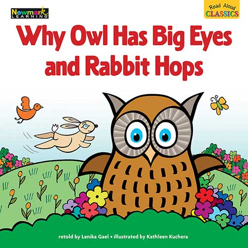 WHY OWL HAS BIG EYES AND RABBIT