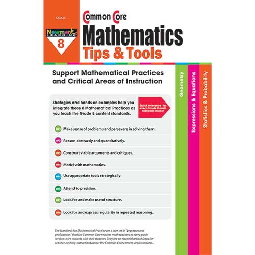 GR 8 COMMON CORE MATHEMATICS TIPS &