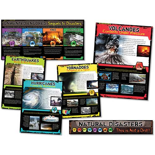 NATURAL DISASTERS BB SET