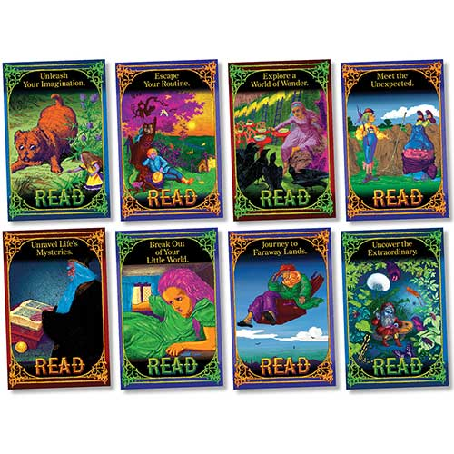 READING ADVENTURE BB SET 11X17 8PCS