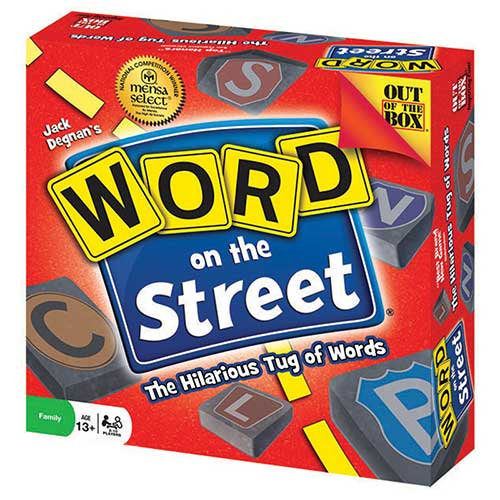 WORD ON THE STREET GAME REVISED