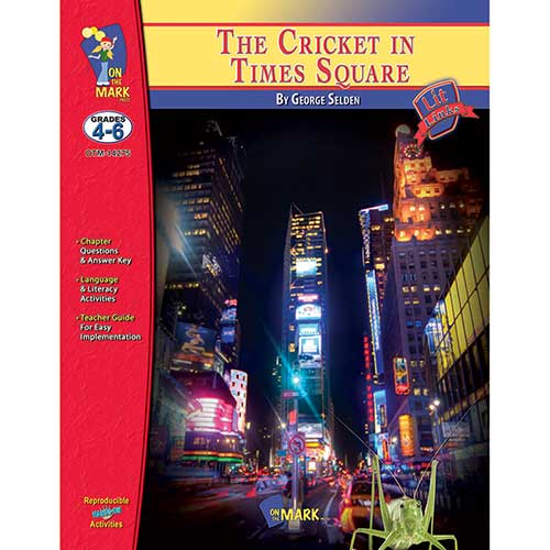 THE CRICKET IN TIMES SQUARE LIT