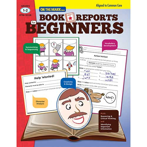 BOOK REPORTS FOR BEGINNERS GR 1-2