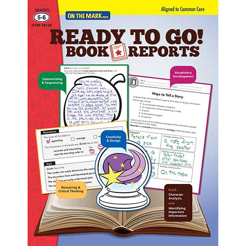 READY TO GO BOOK REPORTS GR 5-6