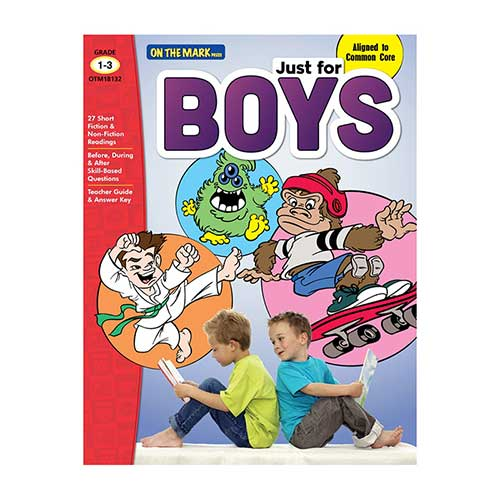 JUST FOR BOYS GR 1-3 READING