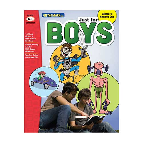 JUST FOR BOYS GR 6-8 READING