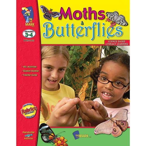 MOTHS AND BUTTERFLIES GR 3-4