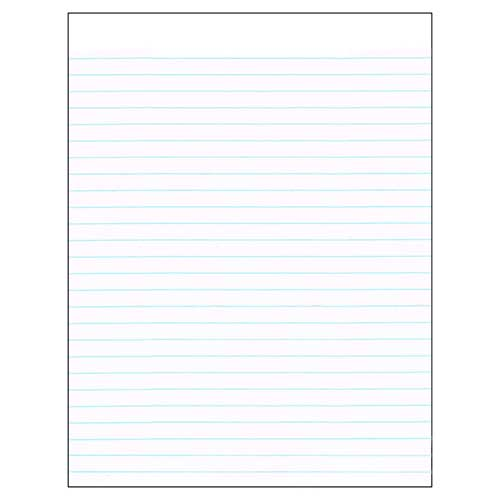 COMPOSITION PAPER 8.5X11 REAM  Lined Chart Paper