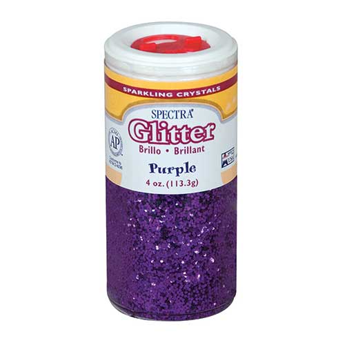 SPECTRA GLITTER 4OZ PURPLE
