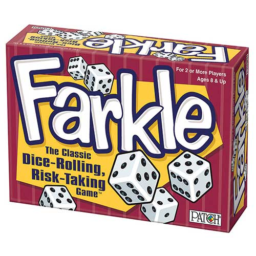 FARKLE DICE ROLLING RISK TAKING