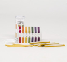PH Strips 1-14 Range with color chart