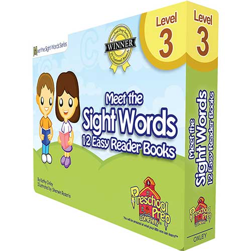 MEET THE SIGHT WORDS LEVEL 3 EASY
