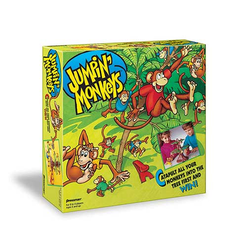 JUMPIN MONKEYS GAME