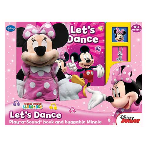 MINNIE MOUSE BOOK BOX AND PLUSH