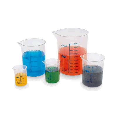 Beaker  Plastic  500 mL