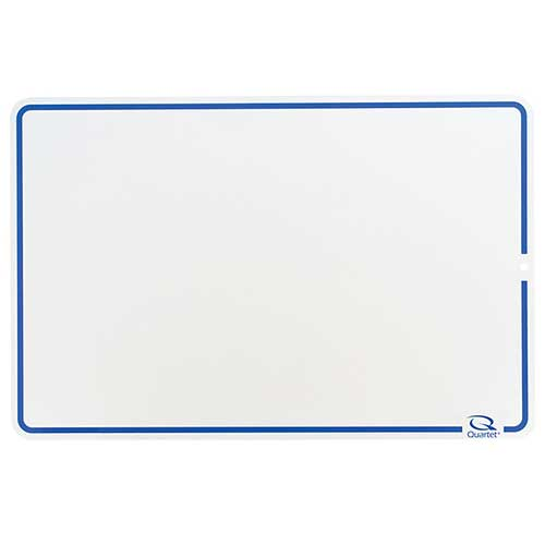 QUARTET LAP BOARDS DRY ERASE BLANK