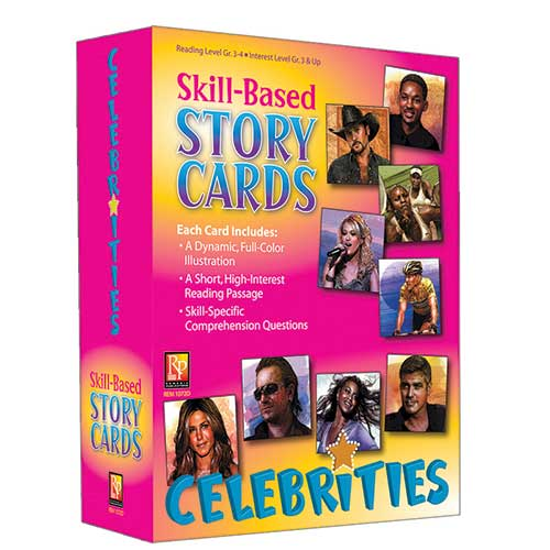 SKILL BASED STORY CARDS CELEBRITIES