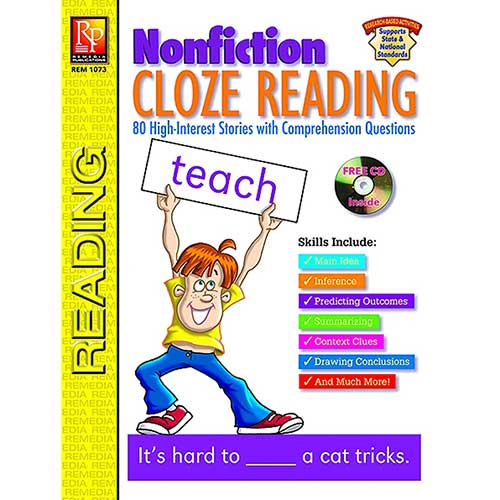 NONFICTION CLOZE READING