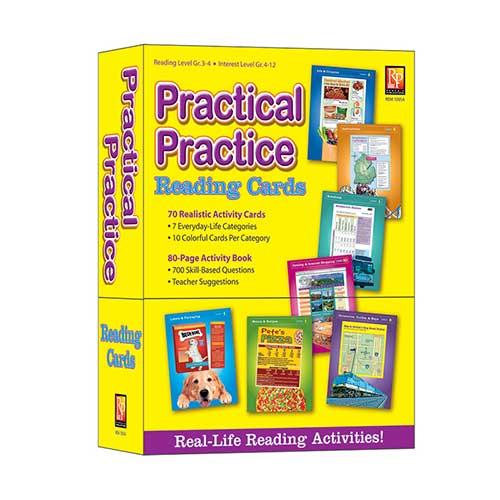 PRACTICAL PRACTICE READING CARDS