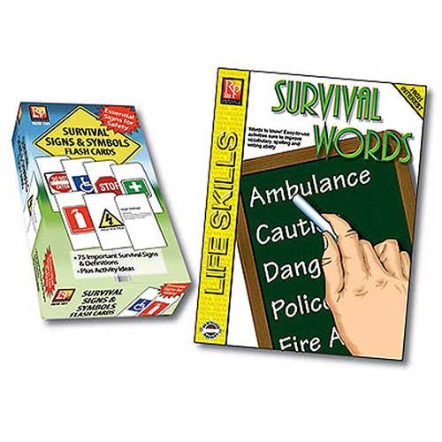 SURVIVAL SIGNS & SYMBOLS FLASH