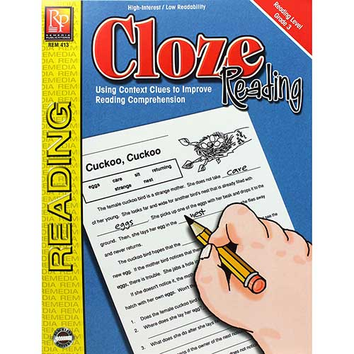 CLOZE READING READING LEVEL 3