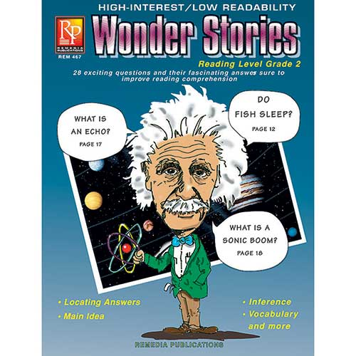 WONDER STORIES 2ND GR READING LEVEL