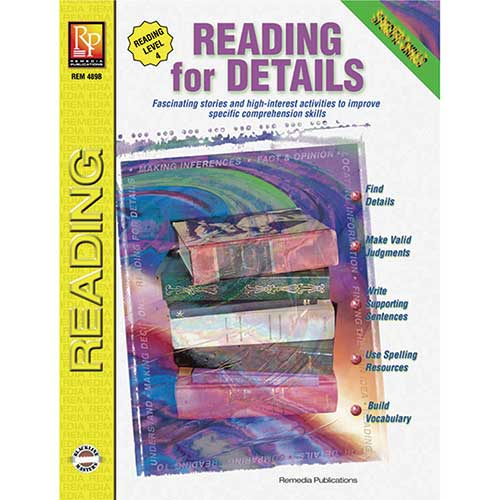 SPECIFIC READING SKILLS READING FOR