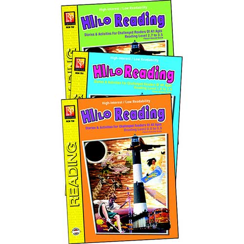 HI/LO READING SET OF ALL 3 BOOKS