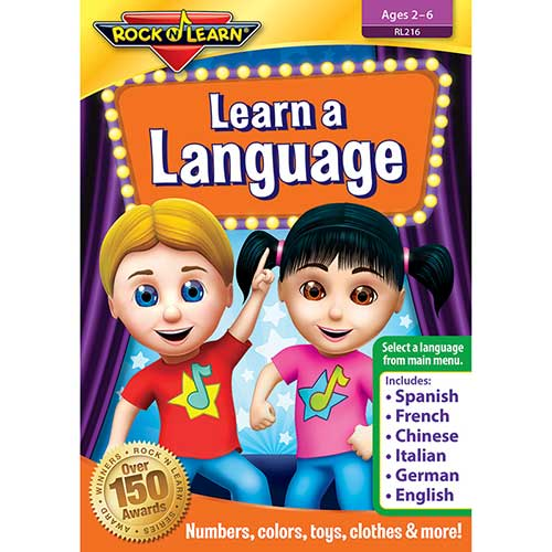 LEARN A LANGUAGE DVD