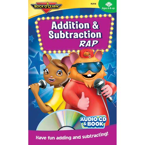 ADDITION & SUBTRACTION RAP CD &