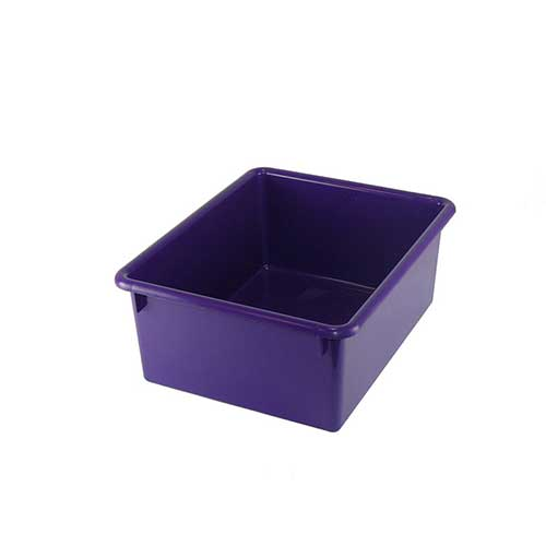 5IN STOWAWAY LETTER BOX PURPLE