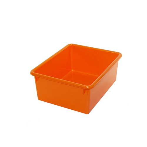 5IN STOWAWAY LETTER BOX ORANGE