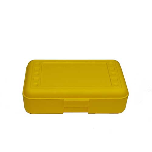 PENCIL BOX YELLOW