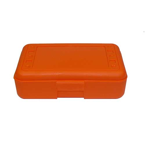 PENCIL BOX ORANGE
