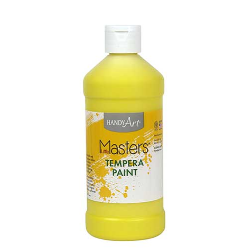 LITTLE MASTERS YELLOW 16OZ TEMPERA