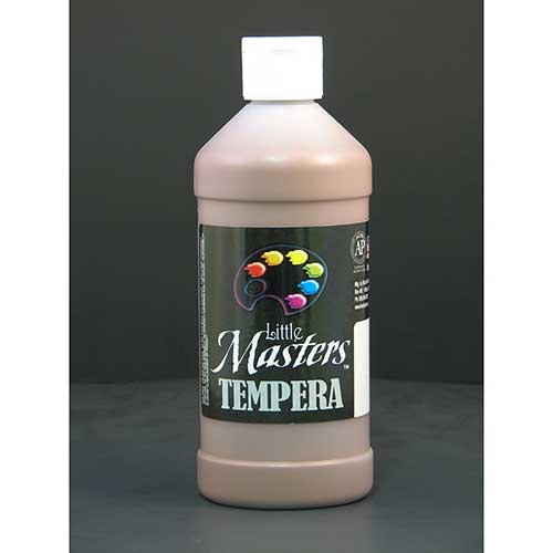 LITTLE MASTERS BROWN 16OZ TEMPERA