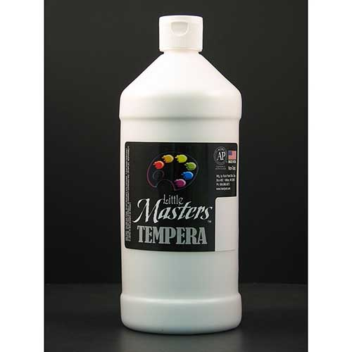 LITTLE MASTERS WHITE 32OZ TEMPERA