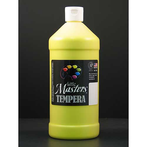 LITTLE MASTERS YELLOW 32OZ TEMPERA