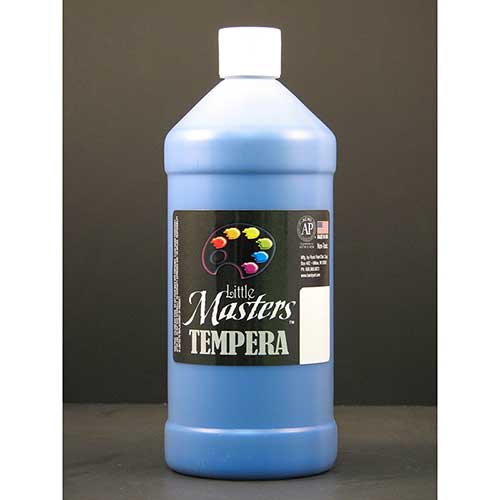 LITTLE MASTERS BLUE 32OZ TEMPERA