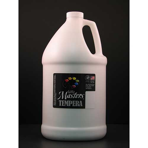 LITTLE MASTERS WHITE 128OZ TEMPERA