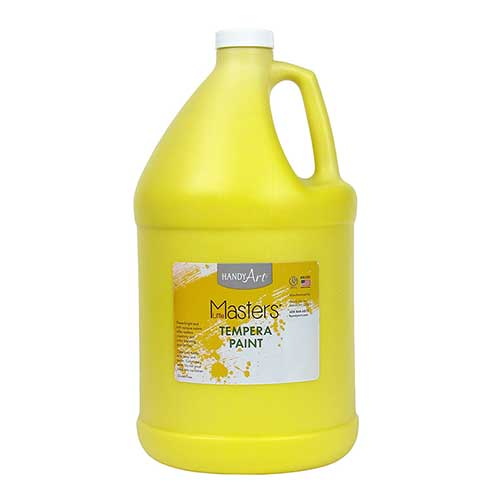 LITTLE MASTERS YELLOW 128OZ TEMPERA