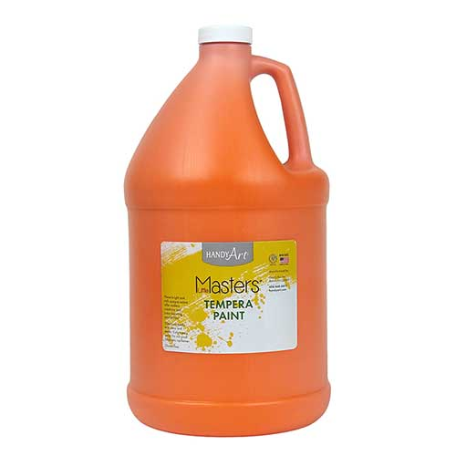 LITTLE MASTERS ORANGE 128OZ TEMPERA