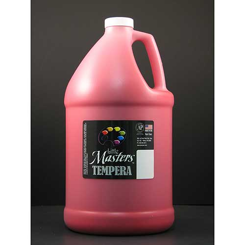 LITTLE MASTERS RED 128OZ TEMPERA