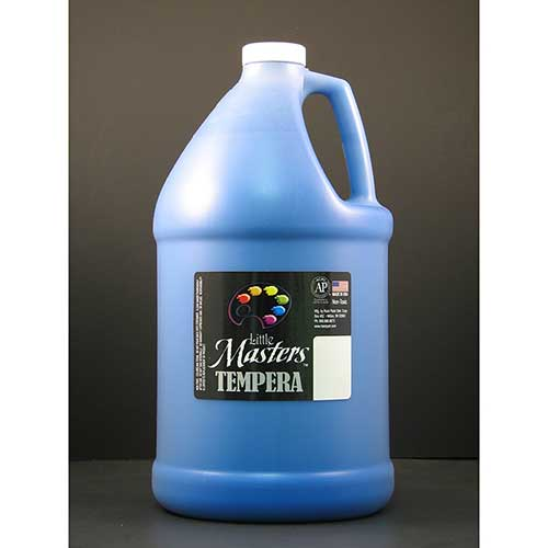 LITTLE MASTERS BLUE 128OZ TEMPERA